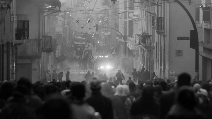Ecuador Quito movilizaciones masivas la-tinta