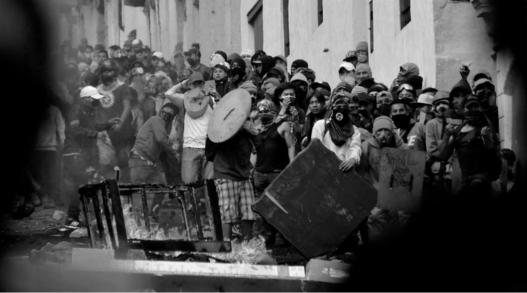 Ecuador barricadas Quito la-tinta
