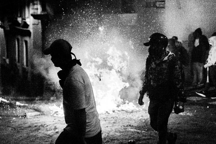 Ecuador manifestantes en las calles la-tinta