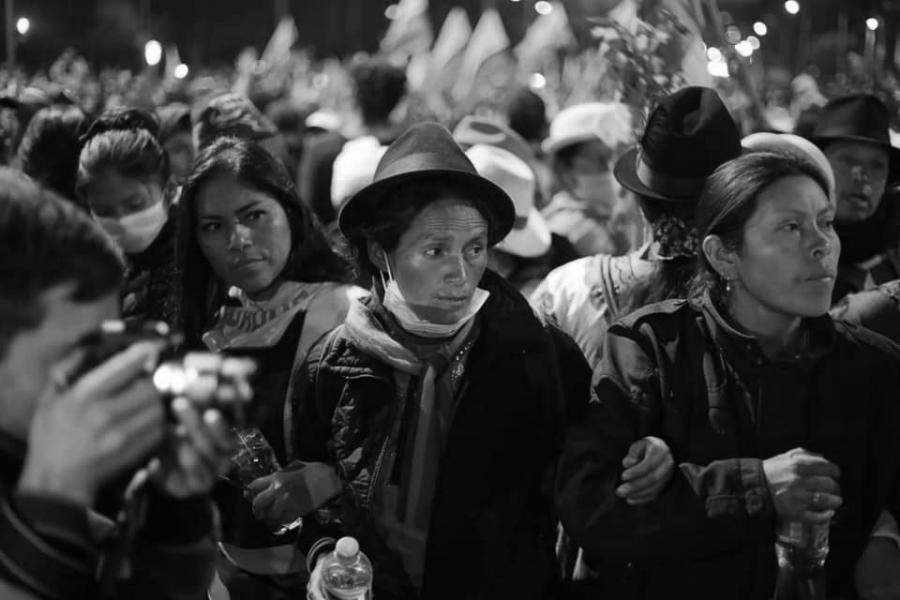 Ecuador mujeres indigenas la-tinta
