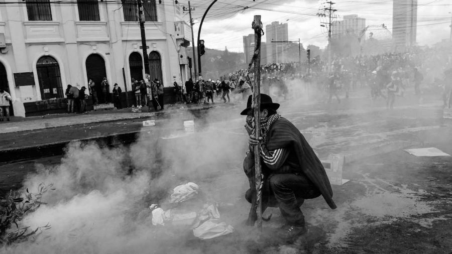 Ecuador protestas indigenas la-tinta