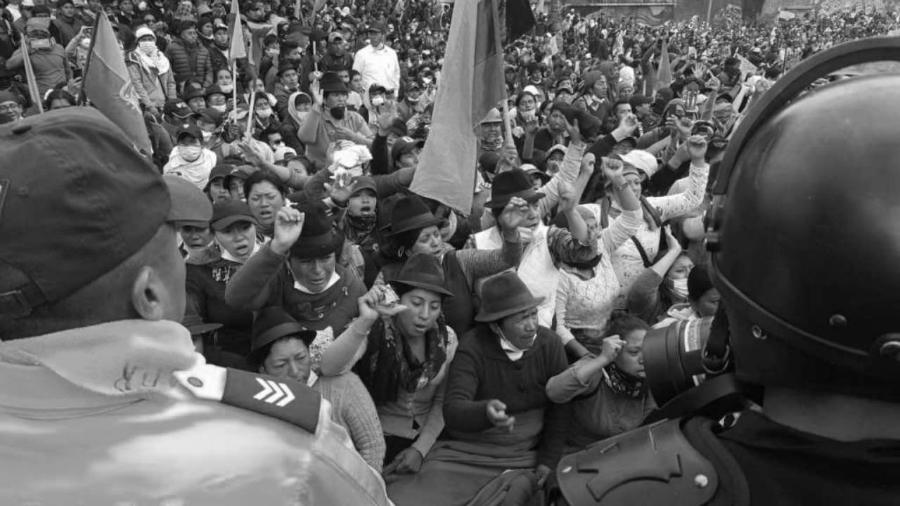 Ecuador pueblos originarios protestas la-tinta