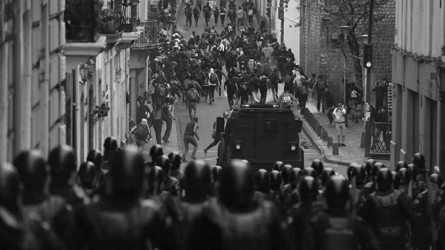 Ecuador represion la-tinta