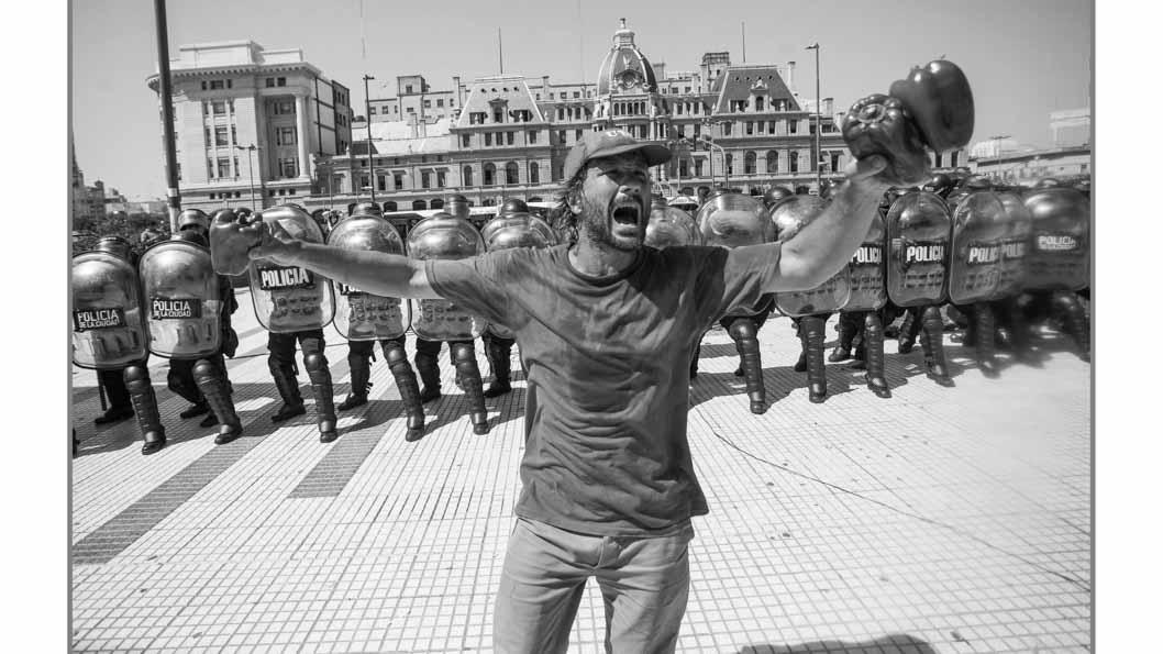 Juan Pablo Barrientos - Represión en el verdurazo
