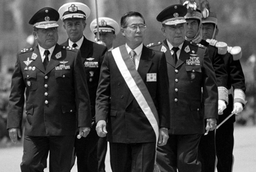 Peru Alberto Fujimori Fuerzas Armadas la-tinta