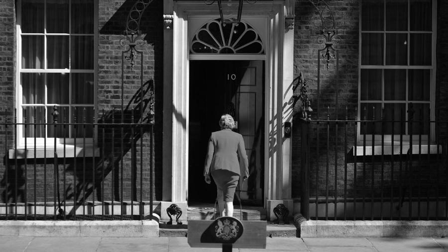 Reino Unido Theresa May casa de gobierno la-tinta
