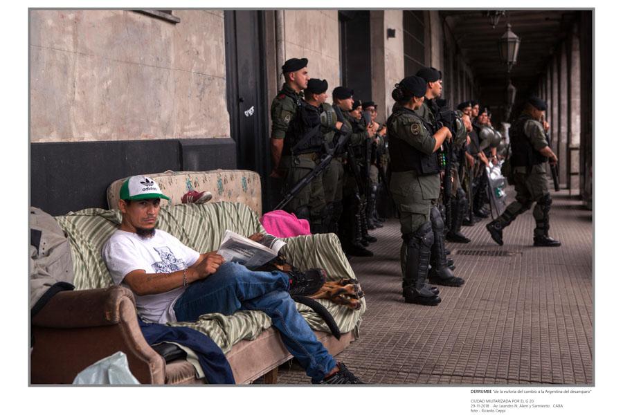 Ricardo Ceppi Ciudad militarizada por el G20