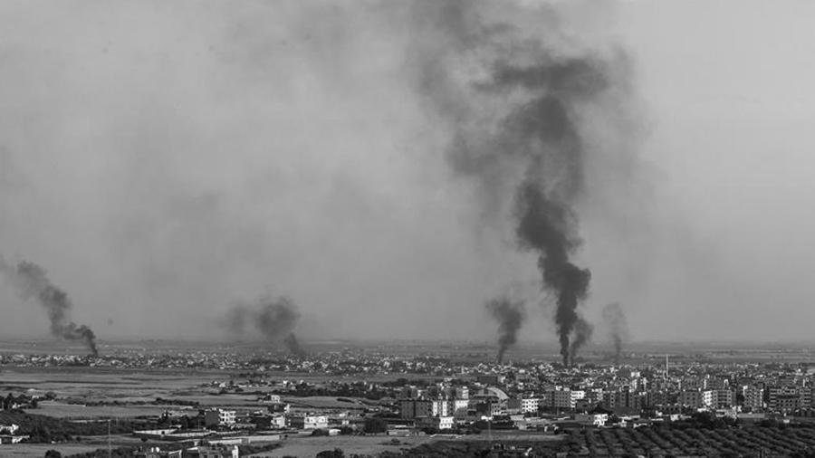 Rojava bombardeos turcos la-tinta