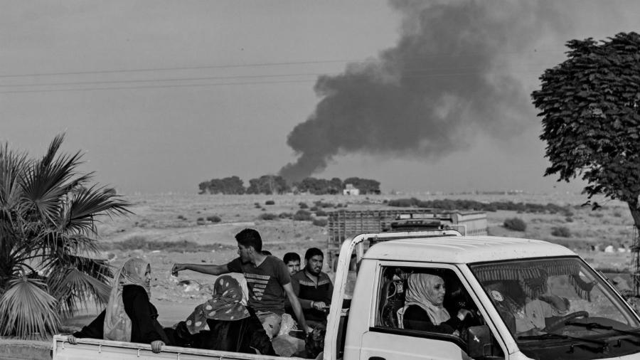 Rojava desplazados la-tinta