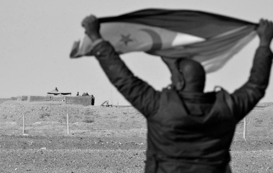 Sahara muro marroqui la-tinta