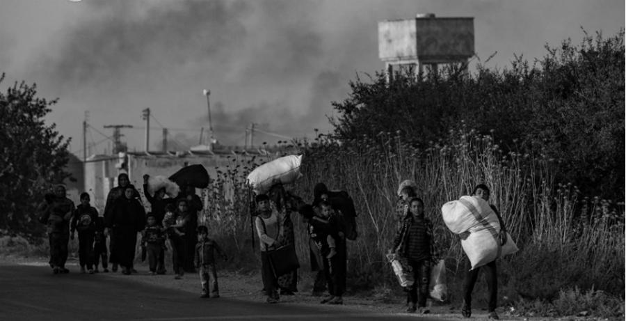 Siria desplazados Rojava la-tinta