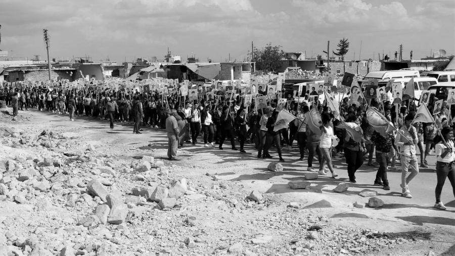 Siria movilizacion contra la invasion la-tinta