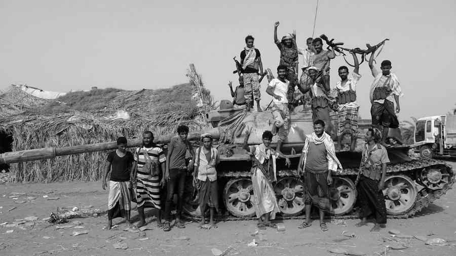 Yemen milicias armadas la-tinta