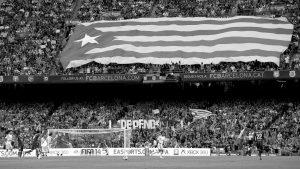 El fútbol y política en Cataluña