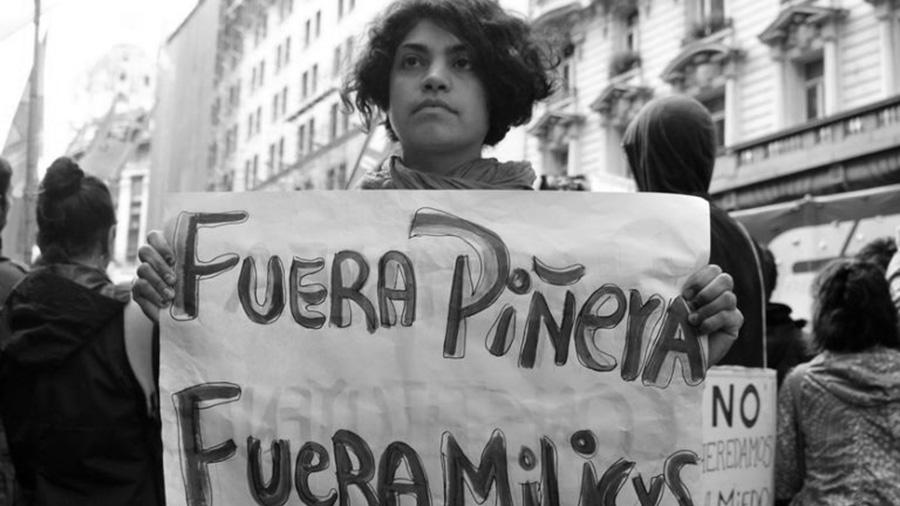 embajada chile represion
