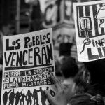 Represión contra el acto en solidaridad con el pueblo chileno