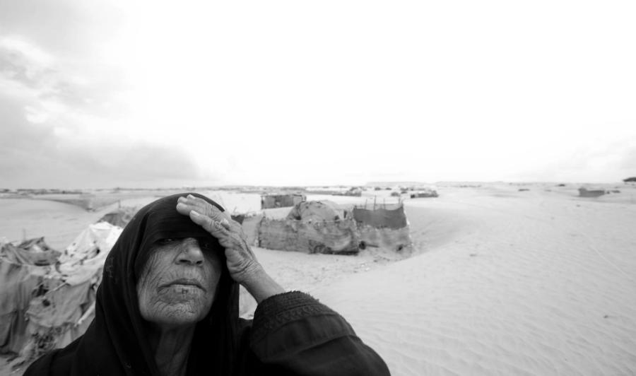 Baluchistan pobladora desierto la-tinta