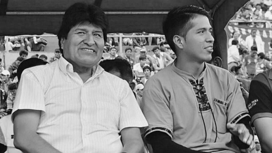 Bolivia Andronico Rodriguez Evo Morales la-tinta
