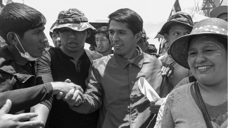 Bolivia Andronico Rodriguez la-tinta