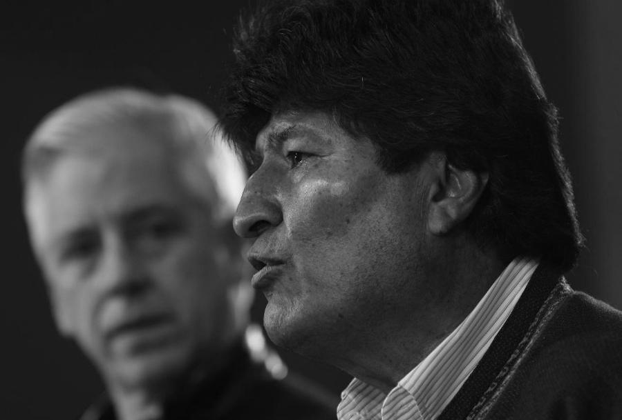 Bolivia Evo Morales Garcia Linera la-tinta