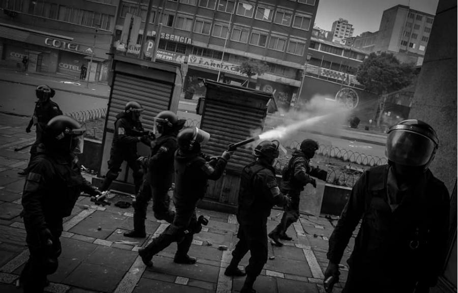 Bolivia La Paz represión la-tinta