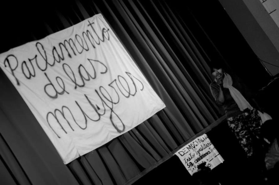 Bolivia Parlamento de Mujeres democracia la-tinta