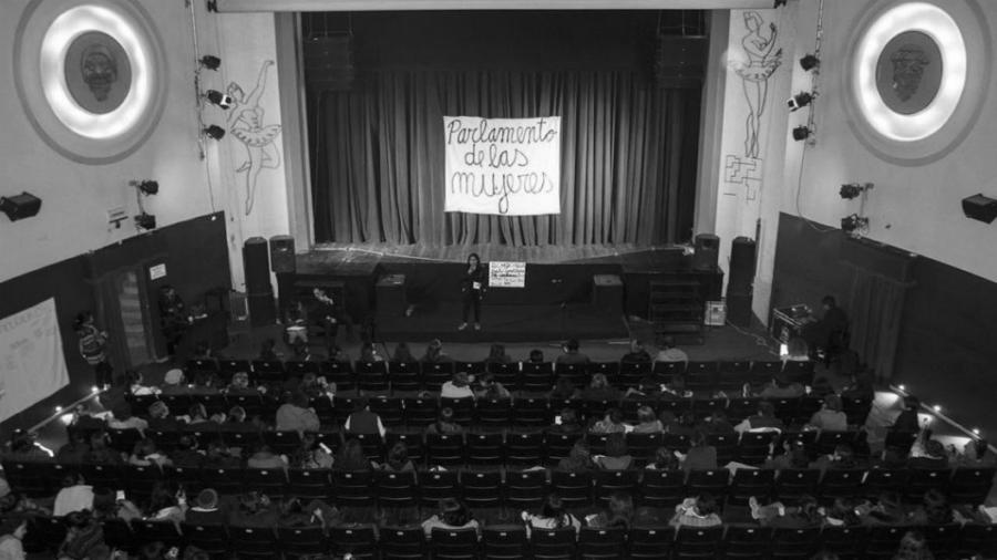 Bolivia Parlamento de Mujeres teatro la-tinta