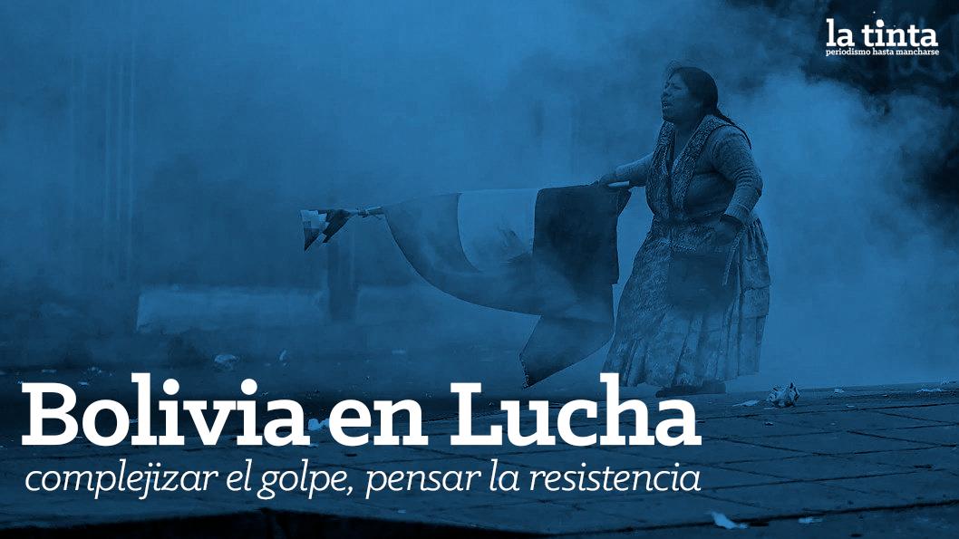 Bolivia en lucha tapa - La tinta