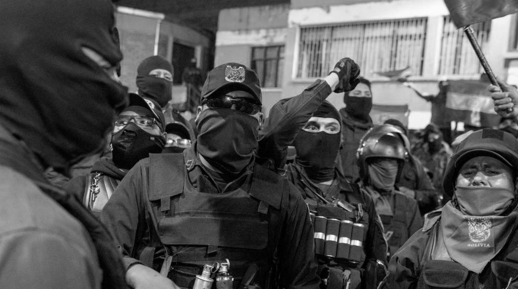 Bolivia fuerzas de seguridad golpe de estado la-tinta