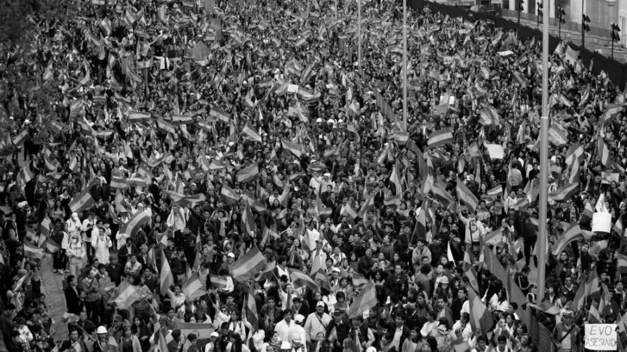 Bolivia manifestacion la-tinta