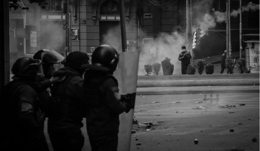 Bolivia manifestante la-tinta
