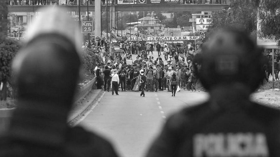 Bolivia movilizacion contra el golpe la-tinta