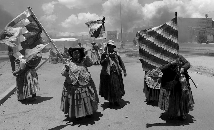 Bolivia mujeres Cochabamba la-tinta