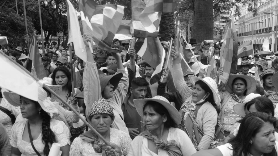 Bolivia mujeres en las calles la-tinta