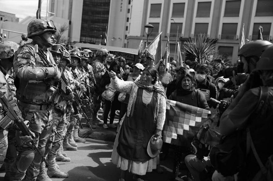 Bolivia mujeres resisten represion la-tinta