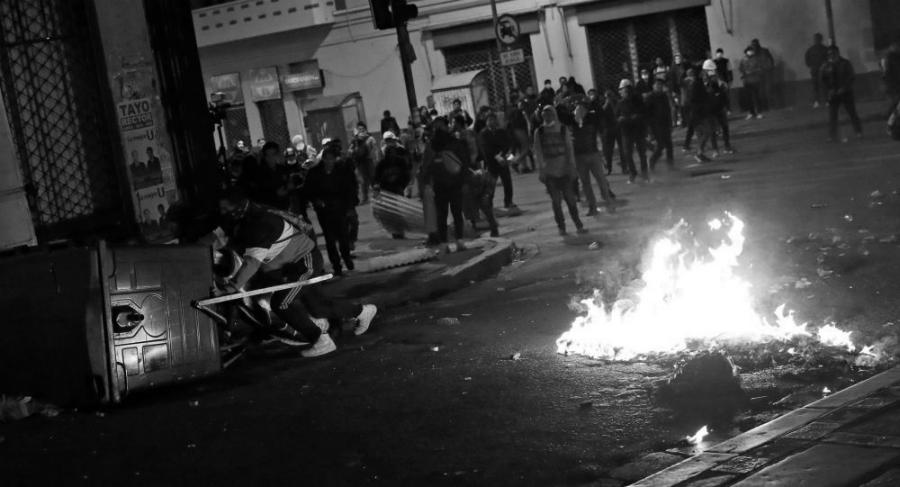 Bolivia oposicion protestas la-tinta
