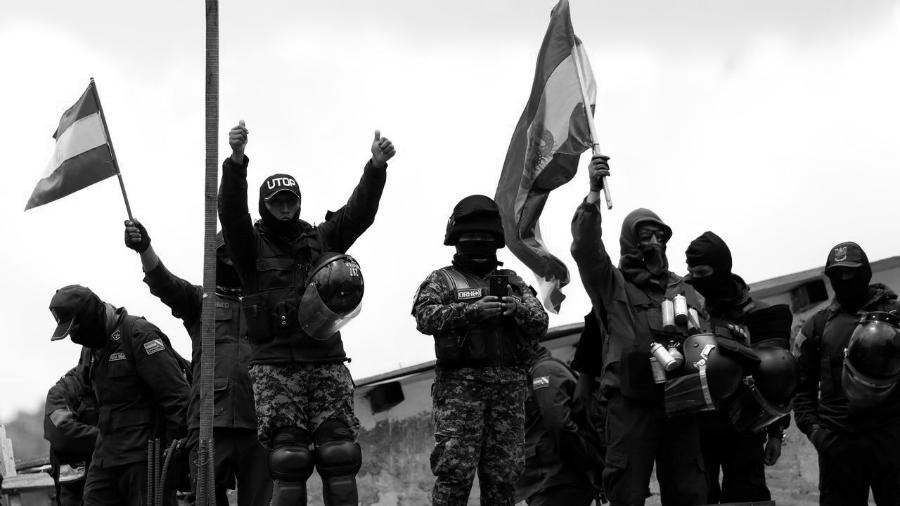 Bolivia policias golpistas la-tinta