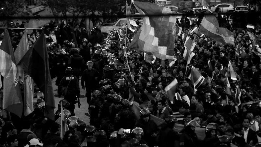 Bolivia protestas en las calles la-tinta