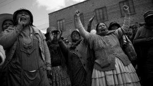"""La sociedad boliviana """"no ha renunciado a su derecho, a su memoria y a su autonomía"""""""