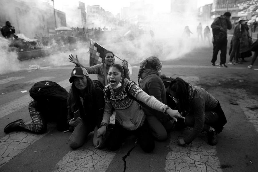 Bolivia represion a protestas la-tinta