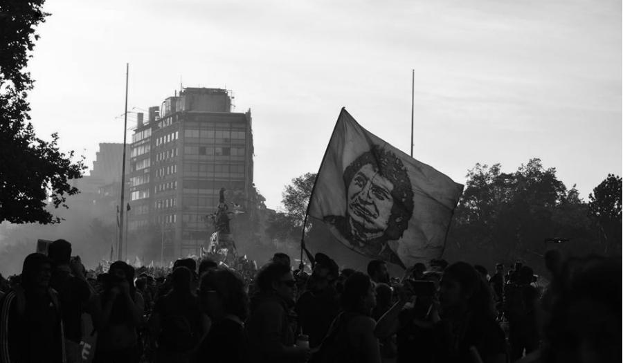 Chile marcha Victor Jara la-tinta