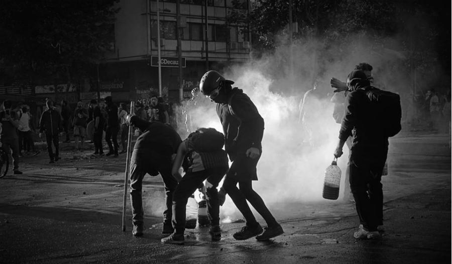 Chile protestas en las calles la-tinta