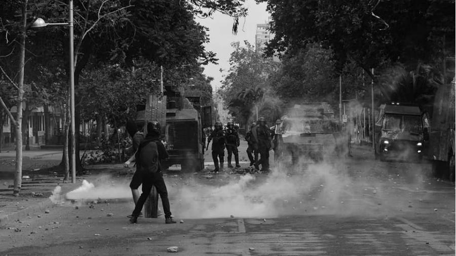 Chile represion carabineros la-tinta
