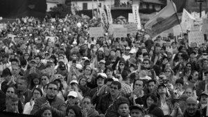 """Colombia: """"El pueblo en las calles está decidido y no se cansa"""""""