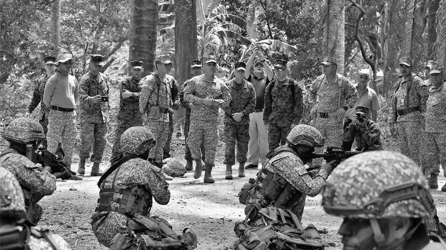 Estados Unidos Comando Sur entrenamiento la-tinta