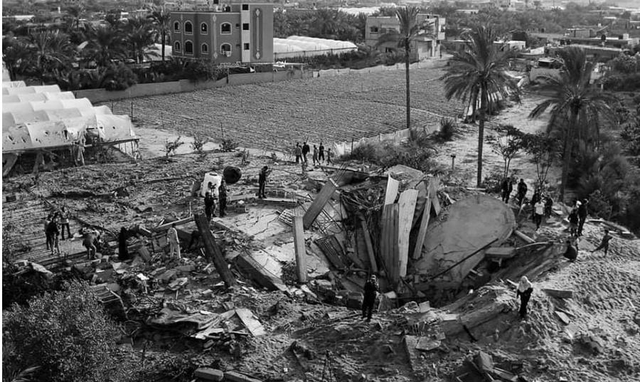 Gaza ataque israeli noviembre 2019 la-tinta