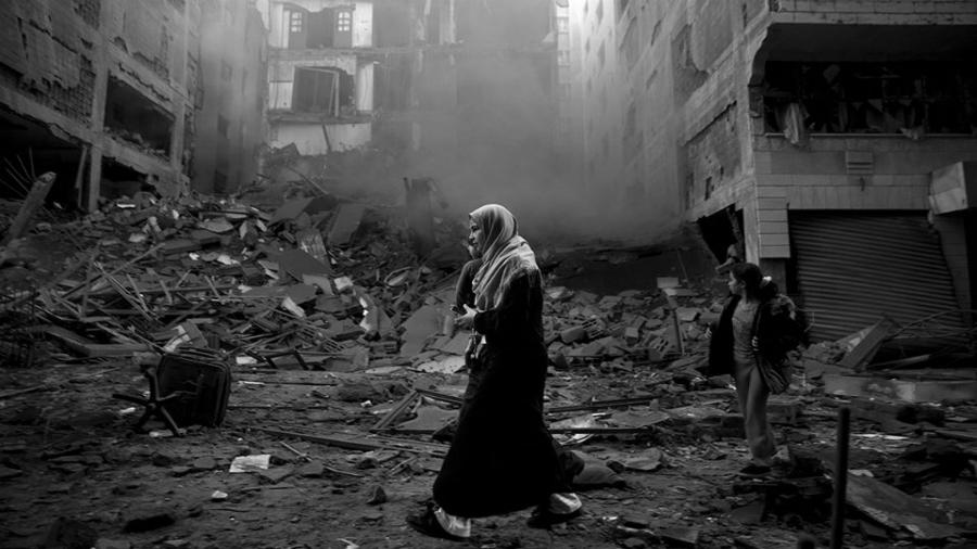 Gaza bombardeos contra pobladores la-tinta