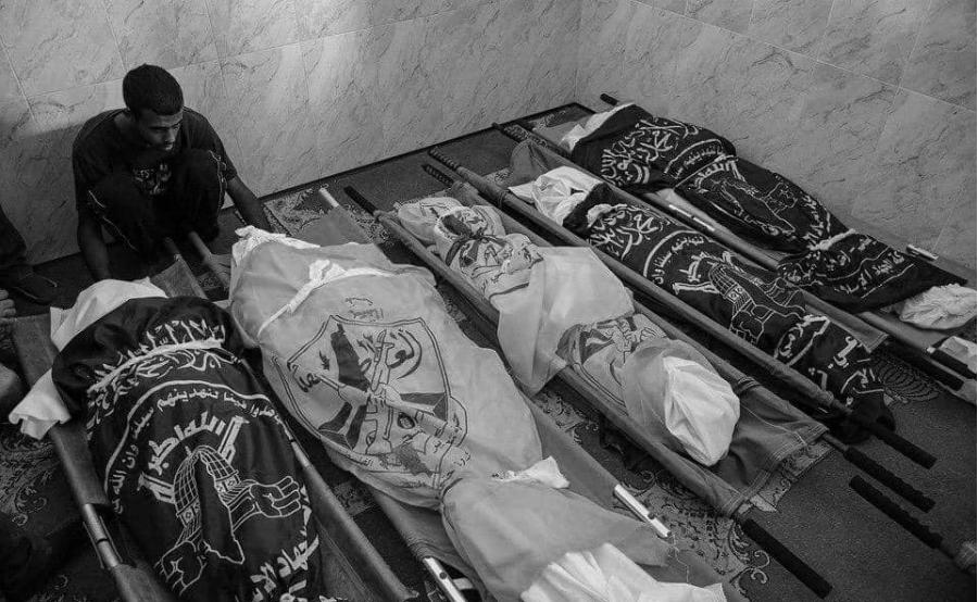 Gaza victimas bombardeos israelies la-tinta