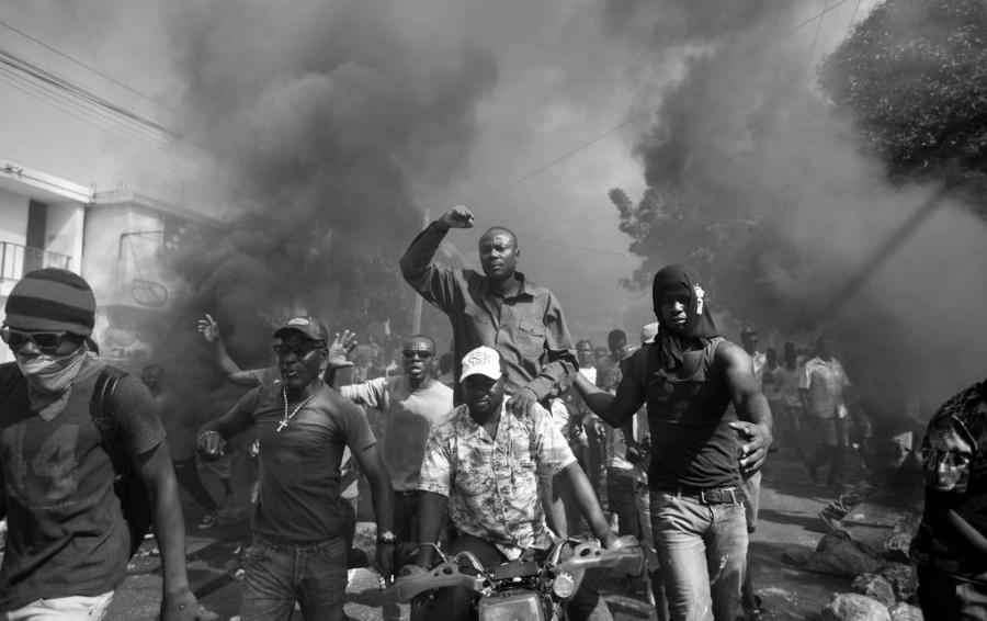 Haiti protestas en las calles la-tinta