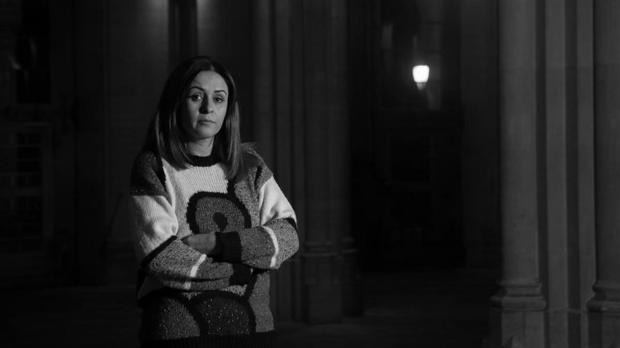 Kurdistan Amina Hussein periodista la-tinta